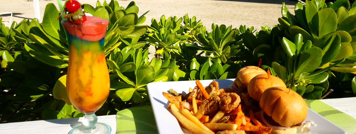 on site dining at the blue iguana grill grand caymanian resort