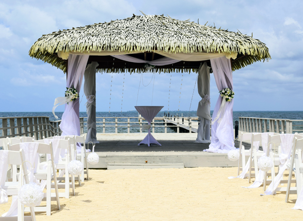 private beach wedding space in grand cayman